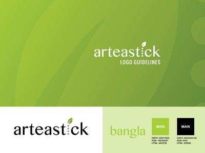 Arteastick Logo Guidelines