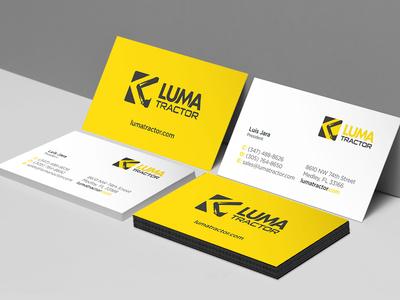 Luma Tractor Business Cards