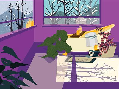 Future dreams concept vector drawing illustration design