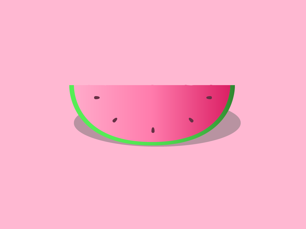 Watermelon pink food design watermelon