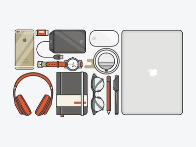#startuplife beats iphone moleskin coffee apple hipster