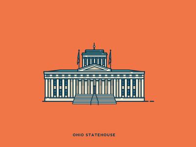 Ohio Statehouse   Death To Stock Photo death to stock photo building statehouse ohio icon