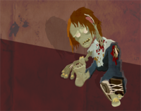 Zombie Illustration (rejected)