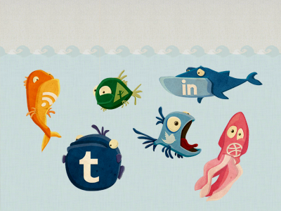 Fishes dribbble