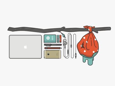 Nomading essentials nomad