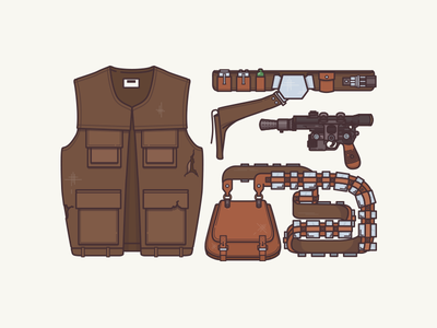 Han Solo | Star Wars Essentials art of the force culture of cult pew pew chewbacca han solo star wars