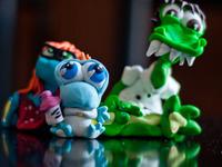 Sculpy Dinos
