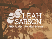 Leah Sarson, PHD Political Science Logo