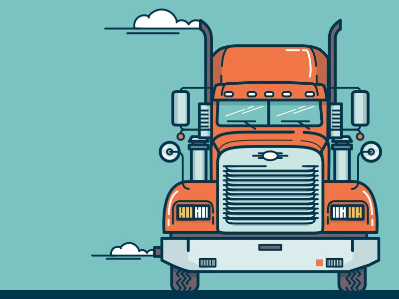 🚚 illustration truck