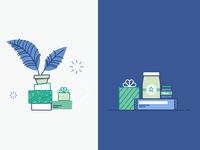 Product vs. Marketing Illustration