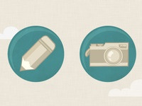Edit & Add Photo Icons