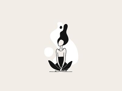 Fri-yay float girl illustration