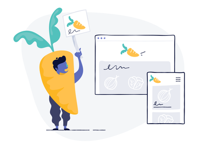 Your brand, Your way shopify polaris themes brand carrot