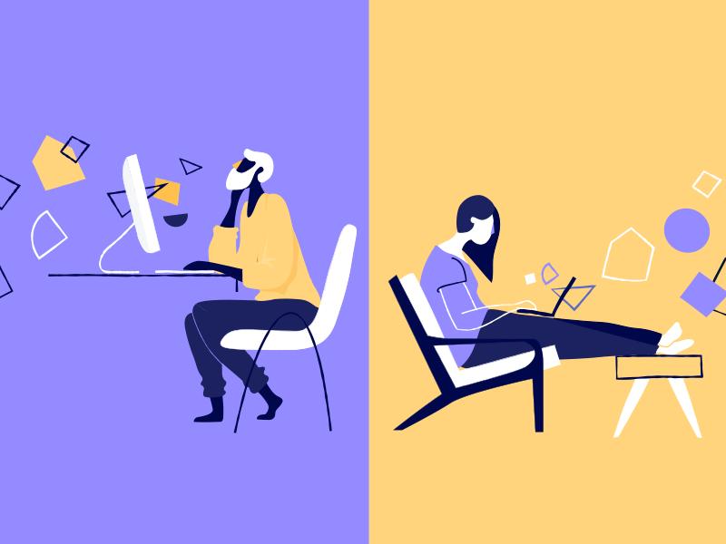 Remotely remoting working illustration leadership remote blog medium