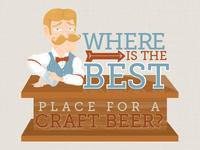 Where is the best place for a craft beer?