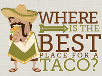 Where is the best place for a taco?