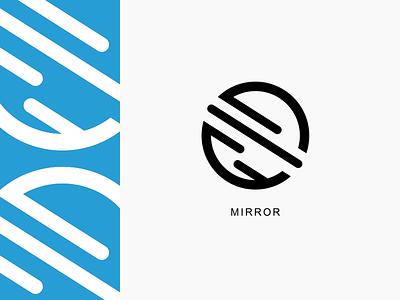 Mirror Logo mirror clothing logotype branding brand identity brand logo