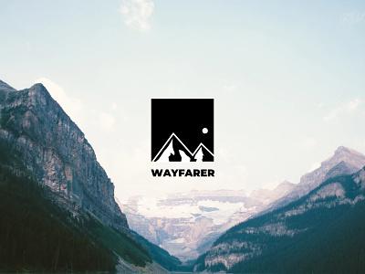 Wayfarer Logo brand identity logo brand ux branding design ui