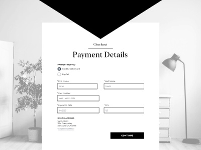 Daily UI  #002 - Credit Card Checkout web daily ui challenge daily ui 002 daily ui credit card payment checkout ux design ui