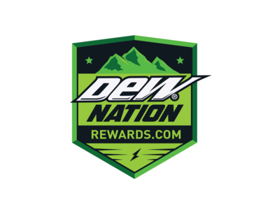 DEW Nation Rewards Logo