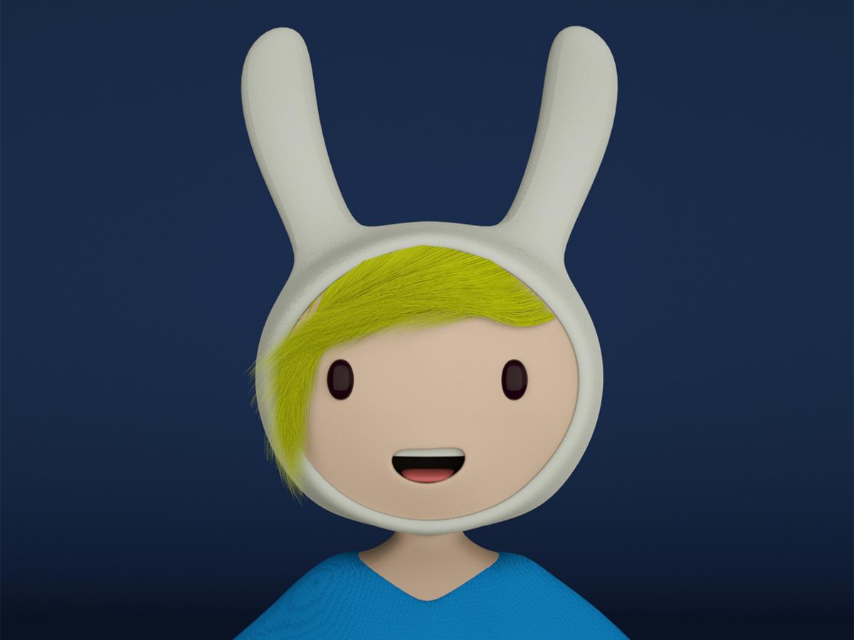 Fiona illustration graphicdesign diseño design photoshop characterdesign otoy cinema4d octanerender