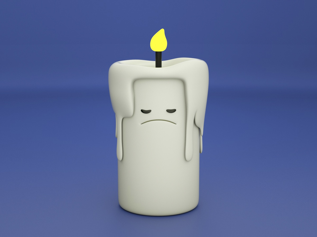 candle graphicdesign octanerender 3d animation zbrush ilustración characterdesign photoshop otoy cinema4d design diseño