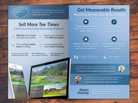 Golf Marketing Brochure