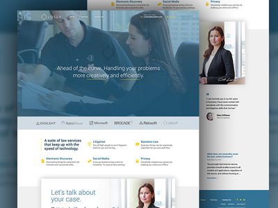 Law Website Strategy & Design law