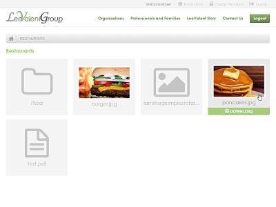 Website Portal web portal download documents