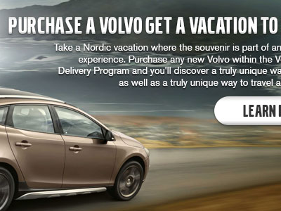 Volvo Overseas Delivery graphic volvo