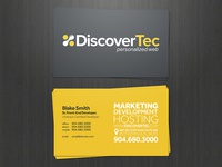 DiscoverTec Business Cards