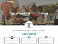 Refer A Friend Landing Page