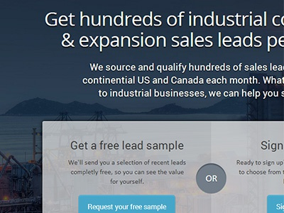 Sales Leads Inc. Website bootstrap umbraco landing page responsive