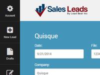 Sales Leads Admin Portal