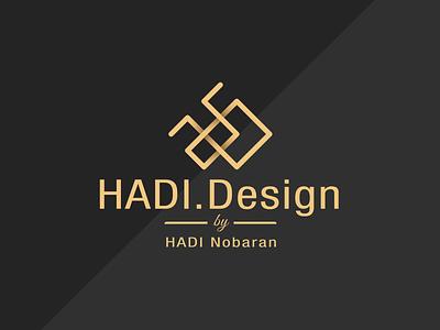LOGO for HADI Design logodesign sign illustration typography brandname architect vector design logo brand identity