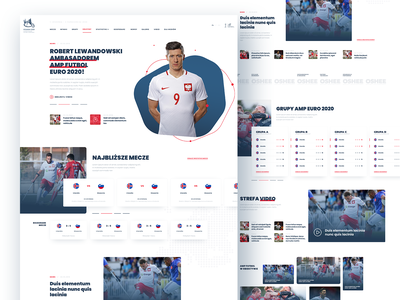 AMP Euro 2020 app branding layout ui webdesign soccer sport eaff amputee football amp