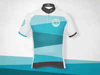 Jersey design for cycling team from Sao Paulo