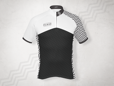 Cycling Jersey design for Palmiak - front fashion bicycle mockup tshirt design clothing clothes jersey cycling
