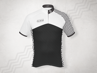 Cycling Jersey design for Palmiak - front
