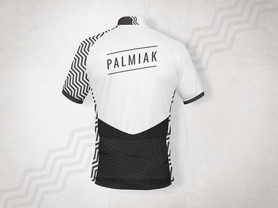 Cycling Jersey design for Palmiak - back fashion bicycle mockup tshirt design clothing clothes jersey cycling