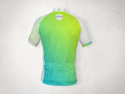 Greens - procycling team jersey cycling fashion design mockup apparel tshirt clothes jersey