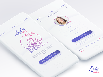 London Academy - App Design academy london speak english language android ios mobile application design app