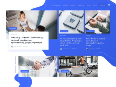 Blog Platform - work in progress post wordpress uidesign ux design blog design modern blog ui design