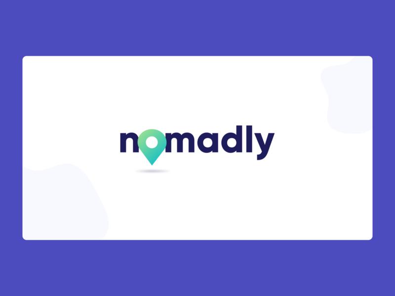 Nomadly Logo offers job nomad logodesign logos logo design logo