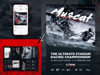 Extreme Sailing - Visual, Flyer and Instagram Graphic