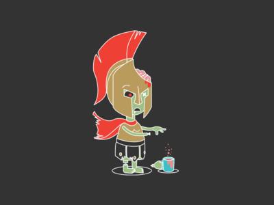 Spartan Zombie