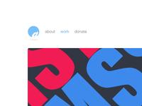 New website mock-up