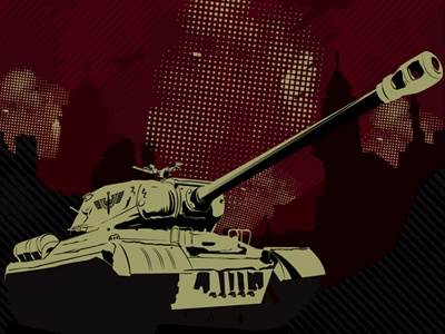 TDWP Tank tank scrim print