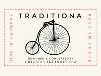 Traditiona Bike Patch
