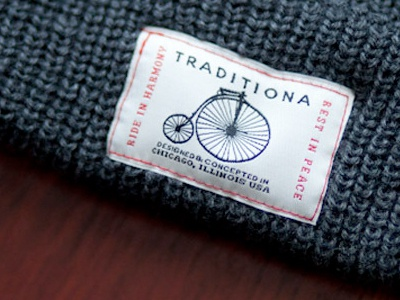 Traditiona Bike Patch Produced